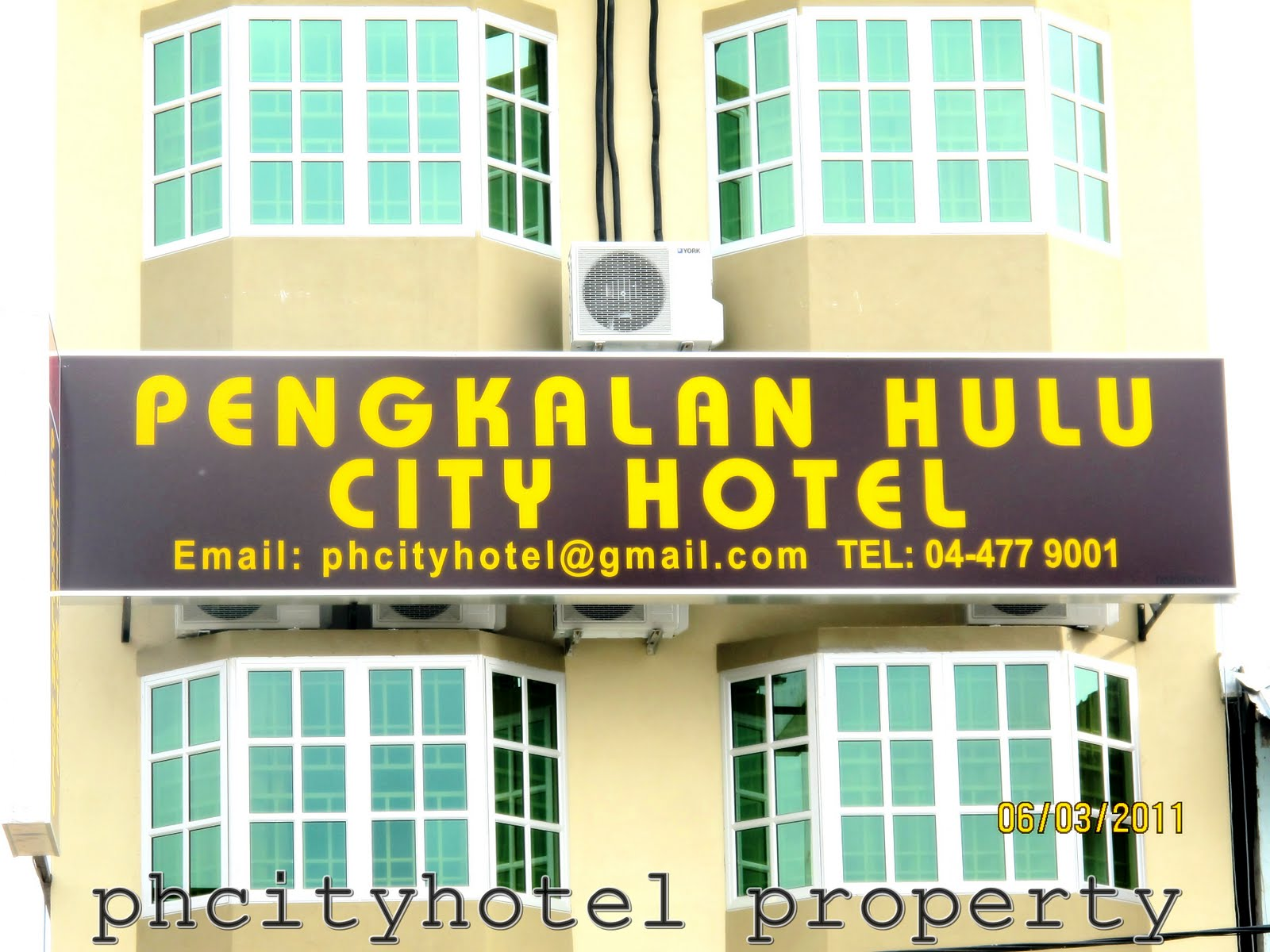 Pengkalan Hulu City Hotel: OUR BUILDING