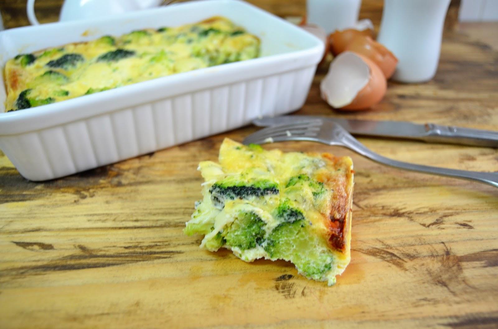 Las Delicias De Mayte Pastel De Brocoli Y Queso Sin Lactosa