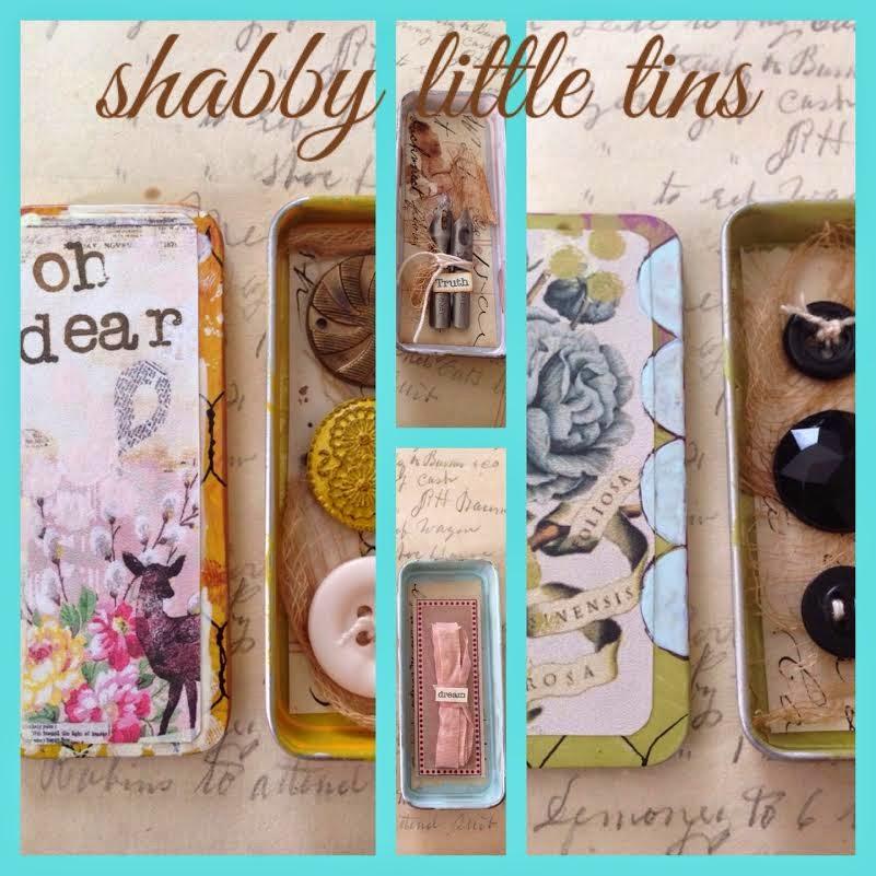 Shabby Little Tins