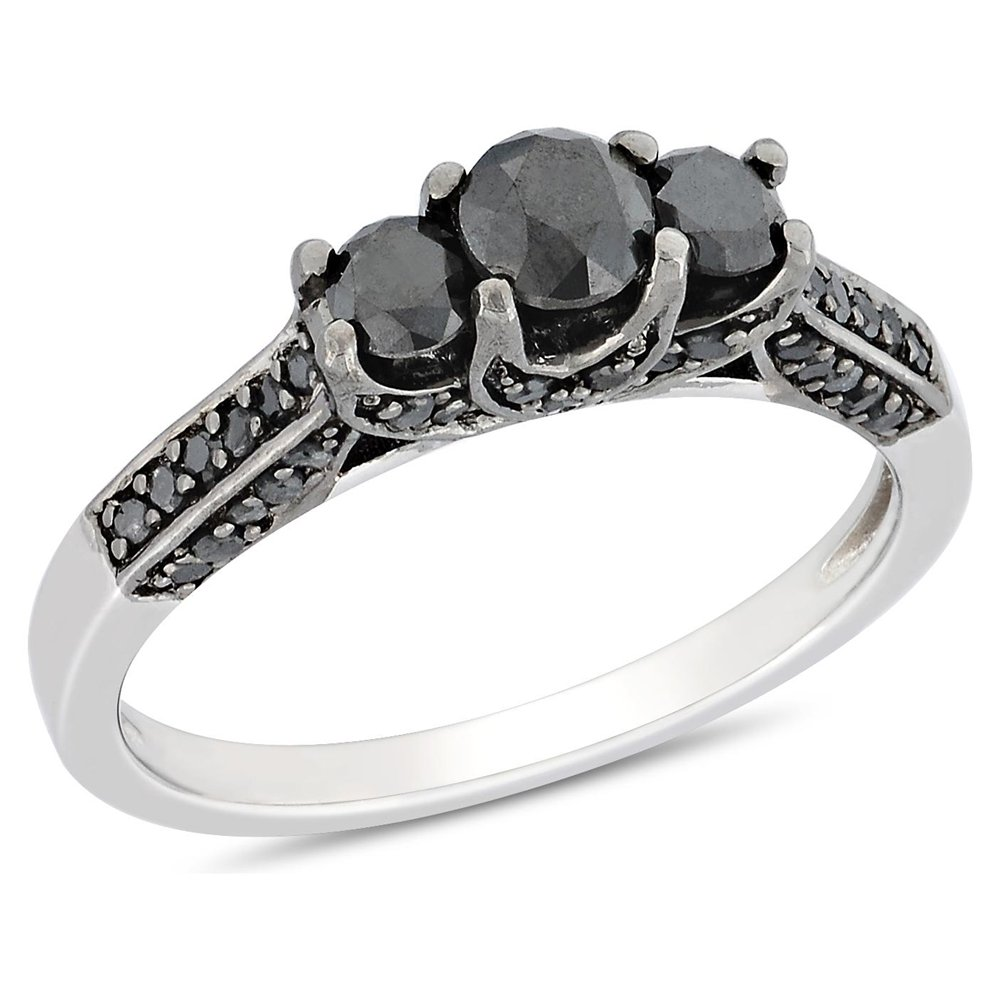 The best vintage black diamond engagement rings Ring Review