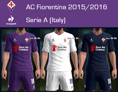 PES 2013 AC Fiorentina 2015/2016 by Dark Shimy