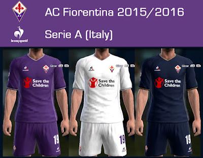 PES 2013 AC Fiorentina 2015/2016 by Dark Shimy