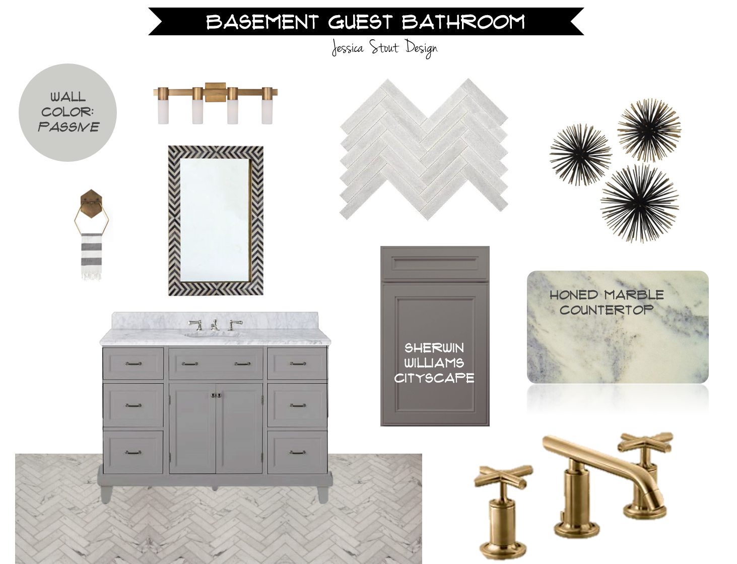 Bathroom Design Board jessica stout design}: may 2015