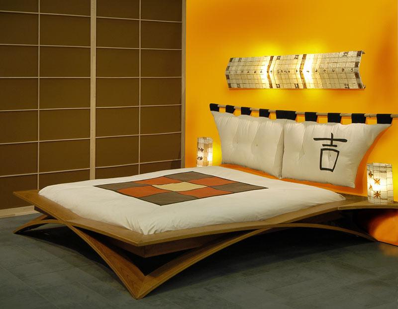 Home interior designs design ideas for modern japanese for Modern asian bedroom