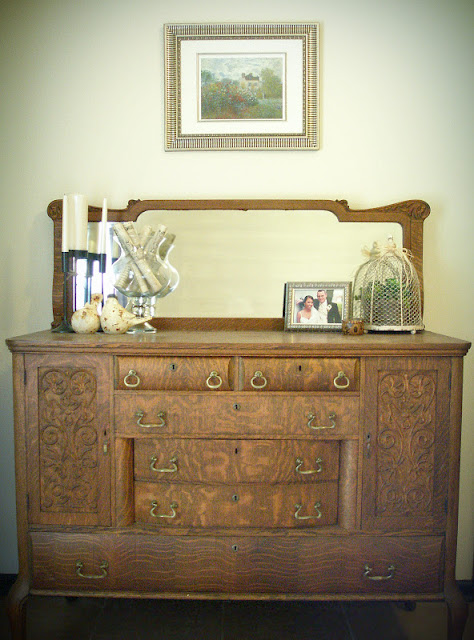 Antique Dresser Styling