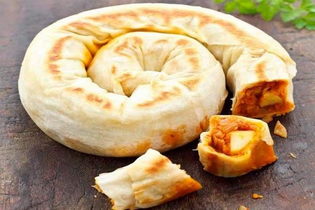 Ispanaklı Sebzeli gül böreği tarifi