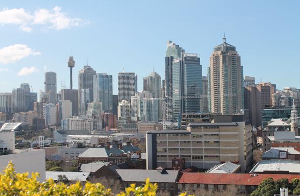 Sydney, Sydney skyline, Ultimo, Australia