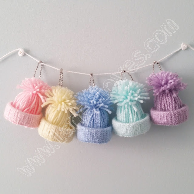 lanes-loves-7cm-pastel-mini-yarn-hat-planner-charms