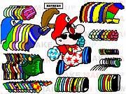 Game thời trang Mario