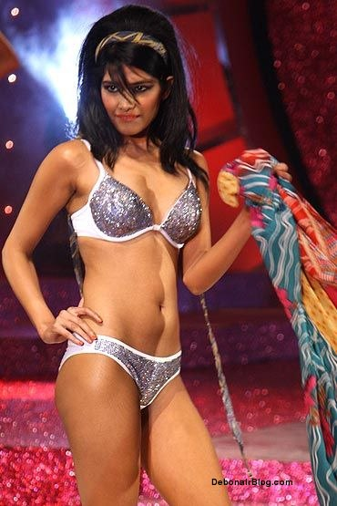 Indian Beautiful Models In Bikini on Ramp