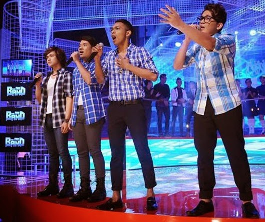 Team The Band: Alpha Ahli Alpha: Zaha Dulla, Eriko, Hadi Jaidi, Allan Anderson Lagu alpha Bahagiamu Deritaku, konsert the band minggu 5