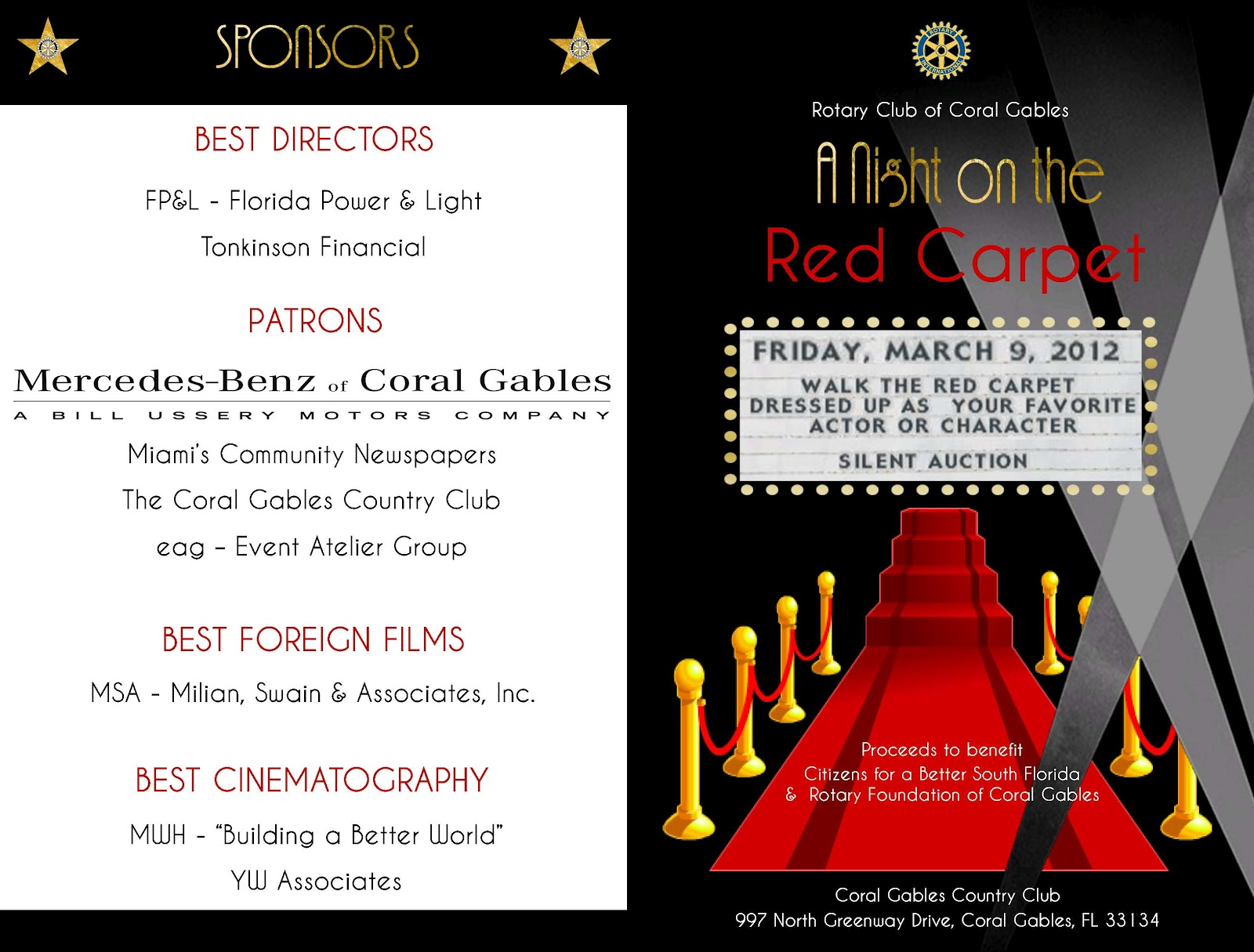 Red carpet party invitations free template - akross.info
