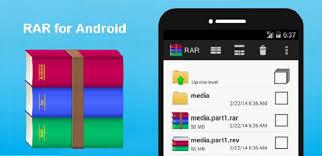 تطبيق RAR for Android Premium لفك وضغط الملفات على اندرويد