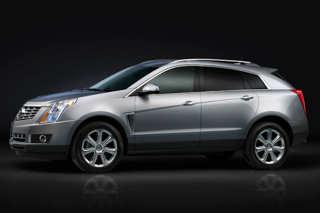 2015 New Cadillac SRX Changes side view