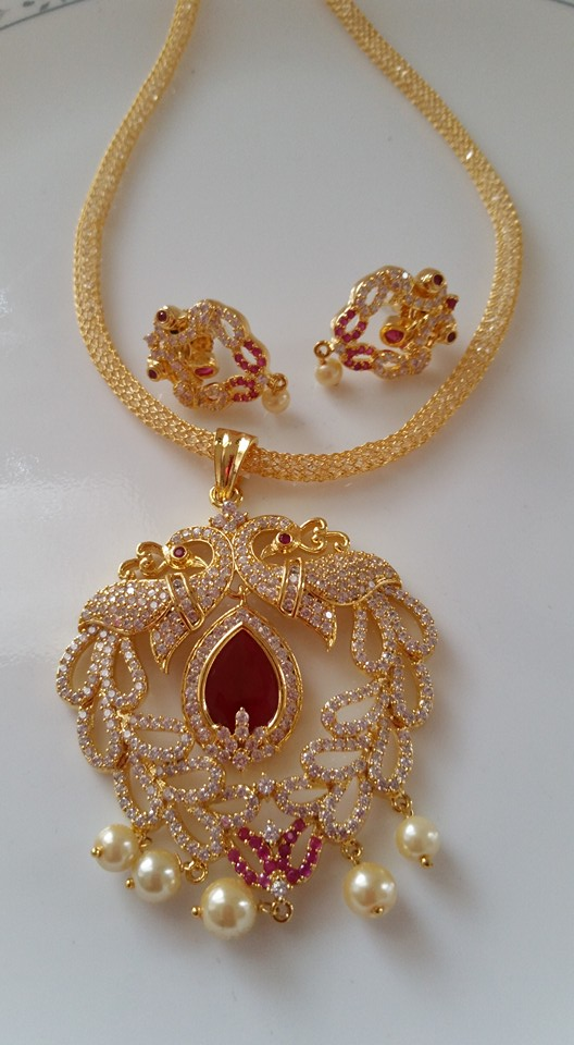 IMITATION JEWELRY DESIGNS - PENDENT SETS
