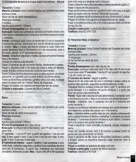 RECEITAS DE VESTIDO EM CROCHE