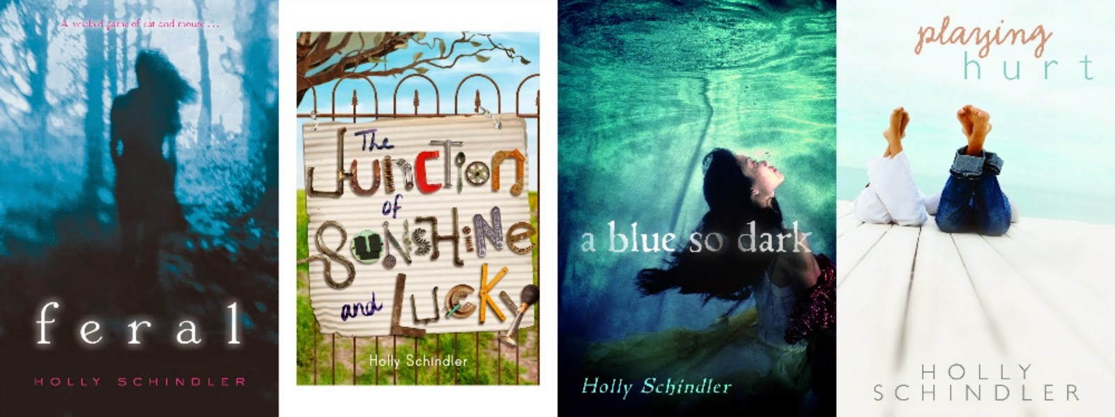 YA and MG Novels by Holly Schindler