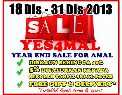 YEAR END SALE FOR AMAL  2013