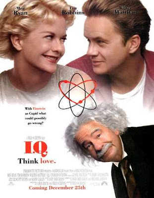 Poster Of English Movie I.Q. 1994 Full DVDRip Movie Free Download Watch Online