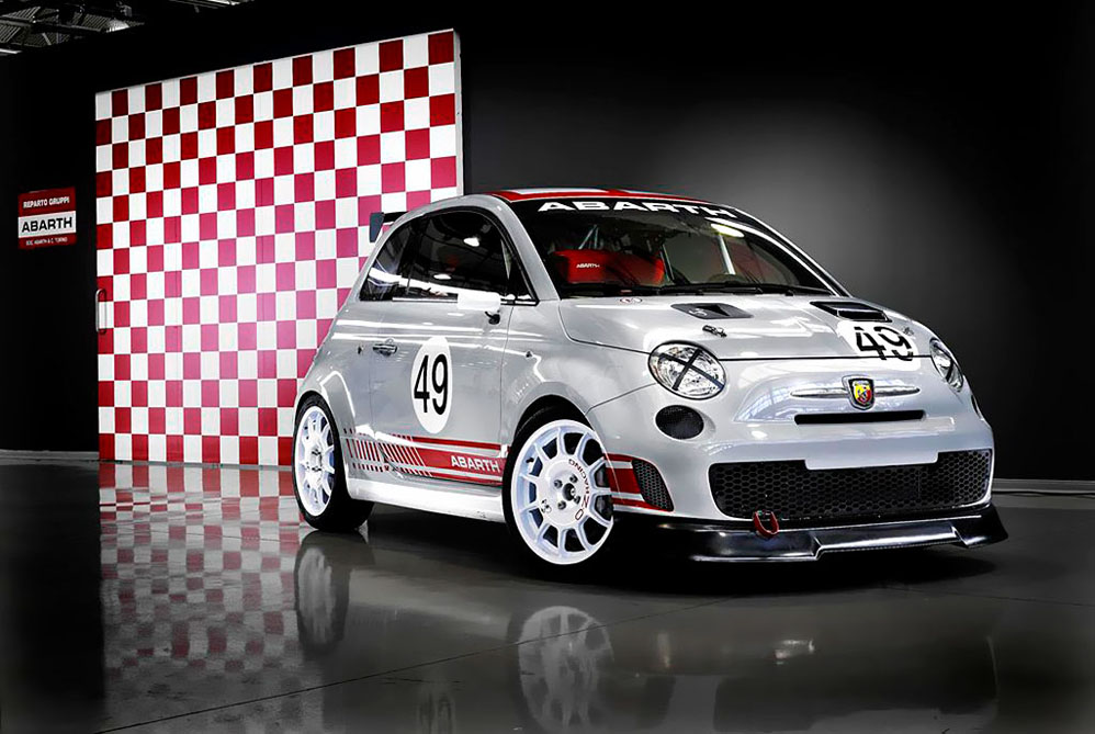 fast speed cars 2009 fiat 500 abarth flashback. Black Bedroom Furniture Sets. Home Design Ideas