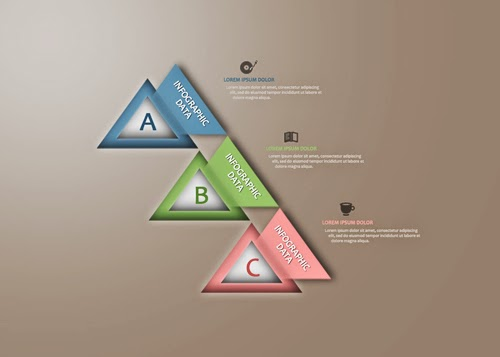 Create a Creative Triangle Infographic In Photoshop