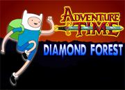 Adventure Time Diamond Forest