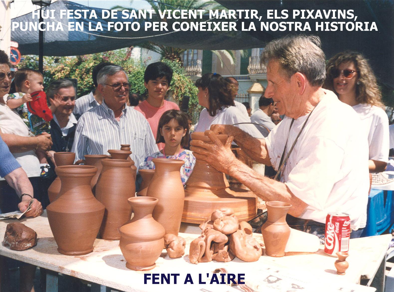 22.01.16 ELS PIXAVINS, FESTA DEL PATRÓ DE VALENCIA, SANT VICENT MARTIR.