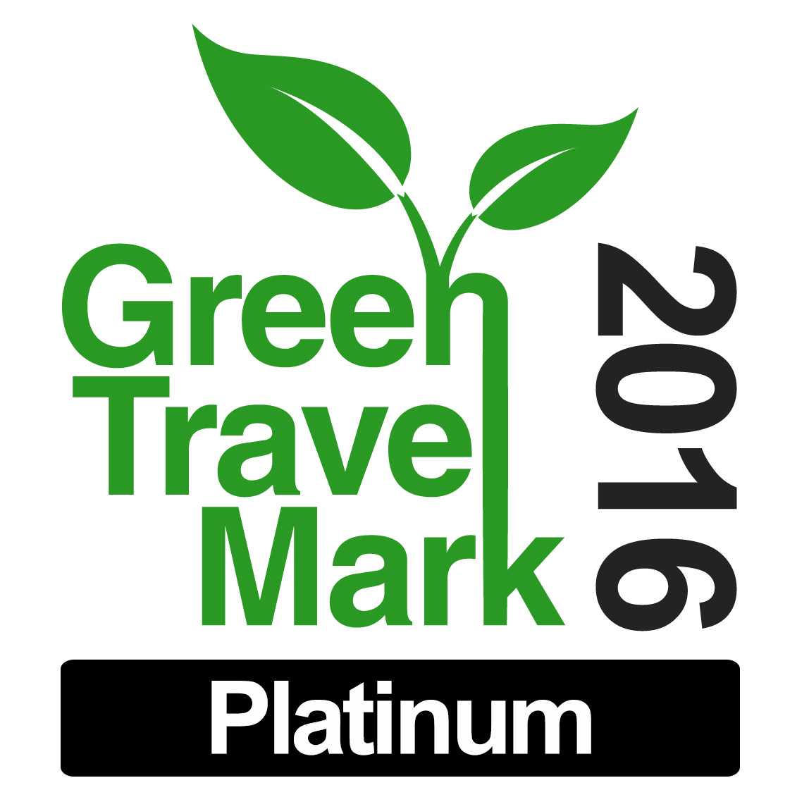 2016- Green Travel mark