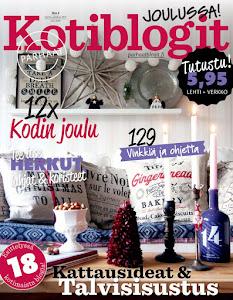 Jouluttelua Kotiblogit -lehden joulunumerossa!