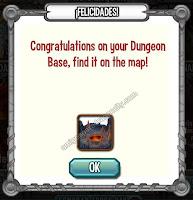 imagen de la isla calabozo de dragon city