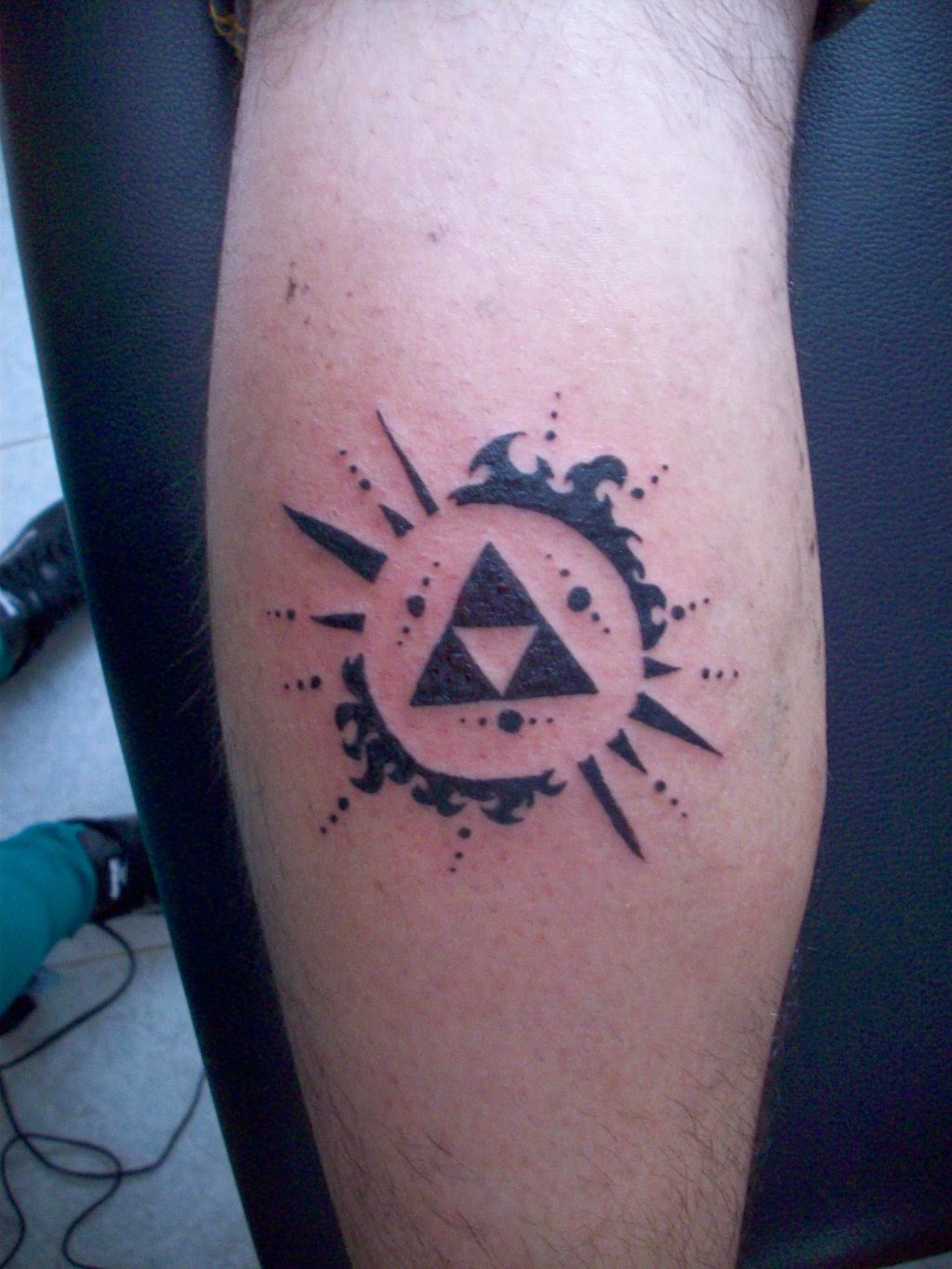 tattoo gallery for men: Triforce Tattoo