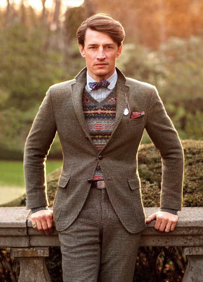 """Tweedland"""" The Gentlemen's club: Ralph Lauren/ Fall 2012 """"The ..."""