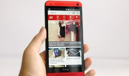 HTC One Break Genuine Box In Red