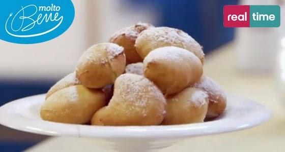 Mini Krapfen (Bomboloni) alla Marmellata di Benedetta Parodi