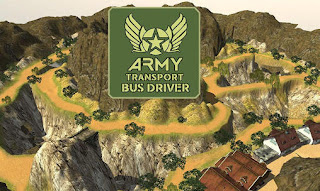 Screenshots of the Army transport bus driver for Android tablet, phone.