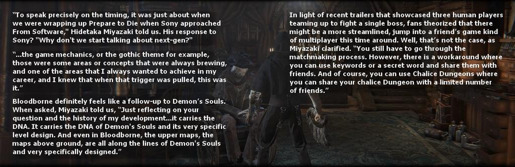 Bloodborne IGN First