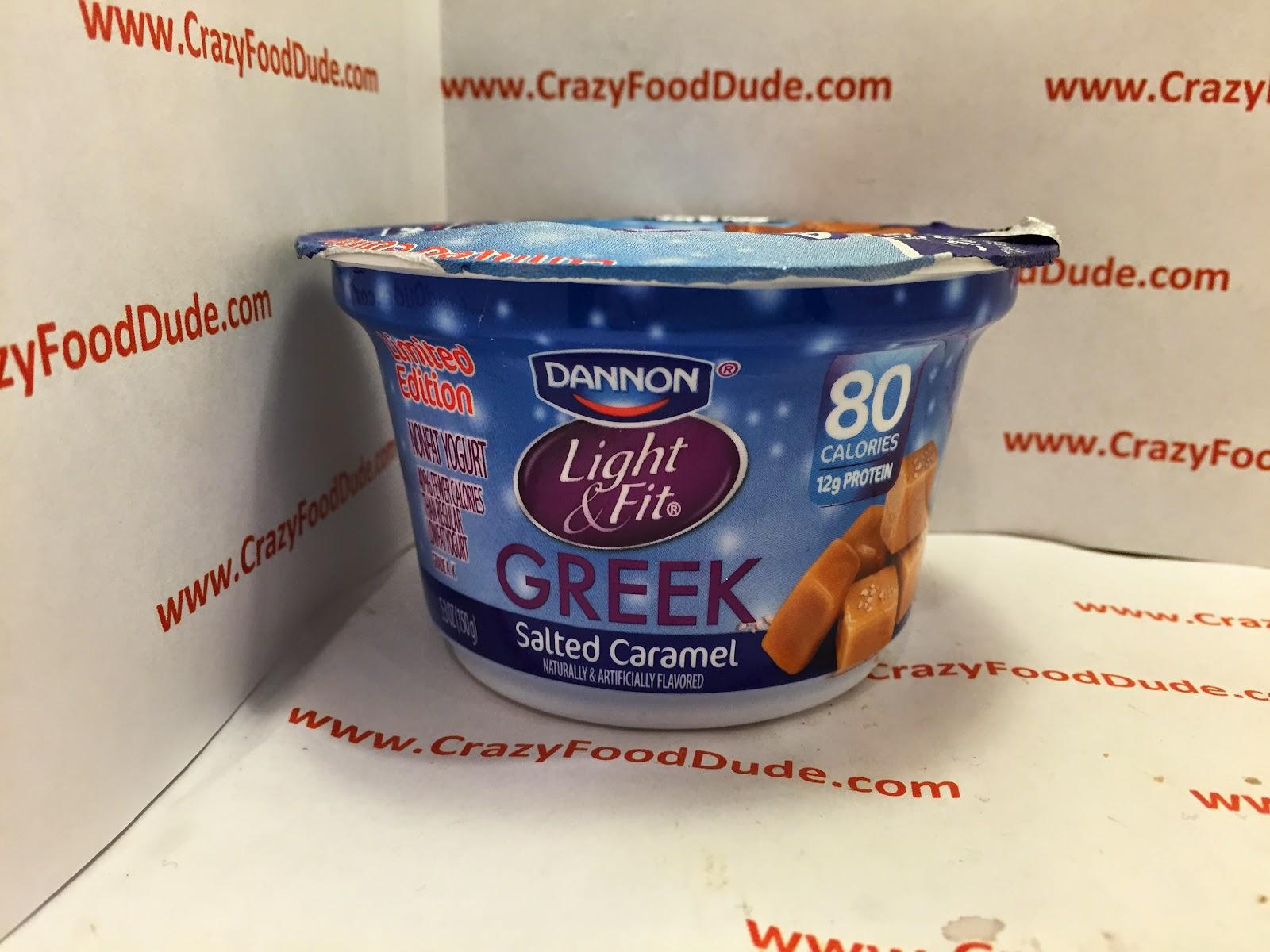 Review: Dannon Light U0026 Fit Greek Salted Caramel Greek Yogurt