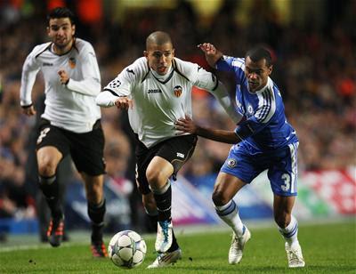 Prediksi Valencia vs Tottenham Hotspur 10 Agustus 2012