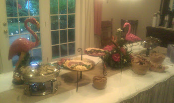 Mary Crumpler's Party- Love Those Flamingos!