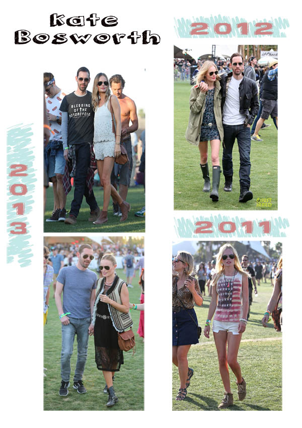 Kate Bosworth Coachella estilo