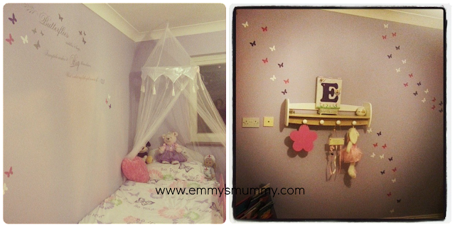 Project big girls room - the big reveal, www.emmysmummy.com