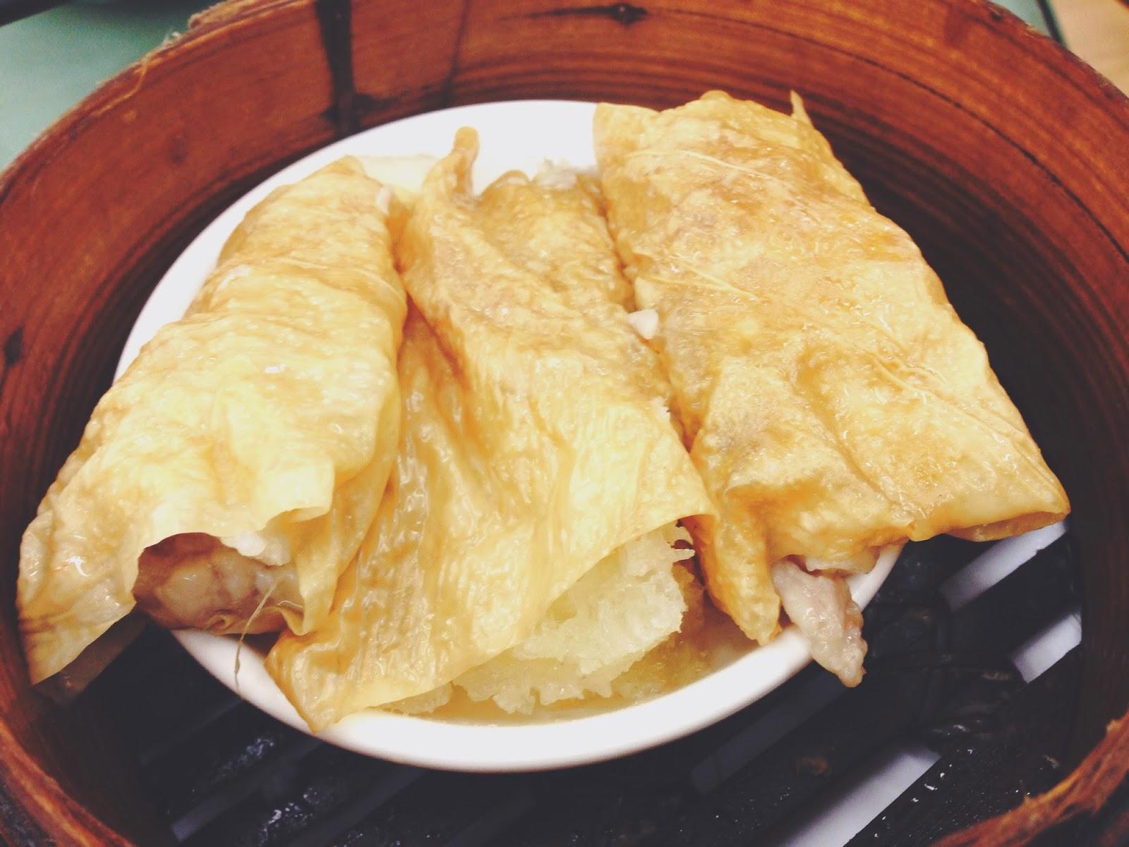 Lin Heung Tea House Hong Kong Restuarant Beancurd Roll