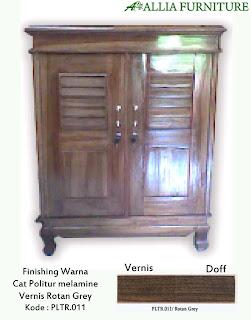 Contoh Furniture Politure Rotan Grey