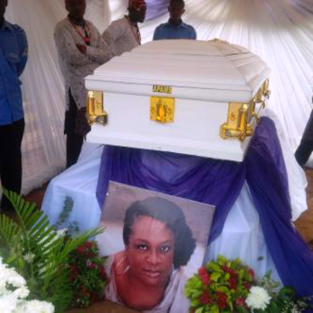 Pix: Late Amaka Igwe Laid to Rest in Imo State
