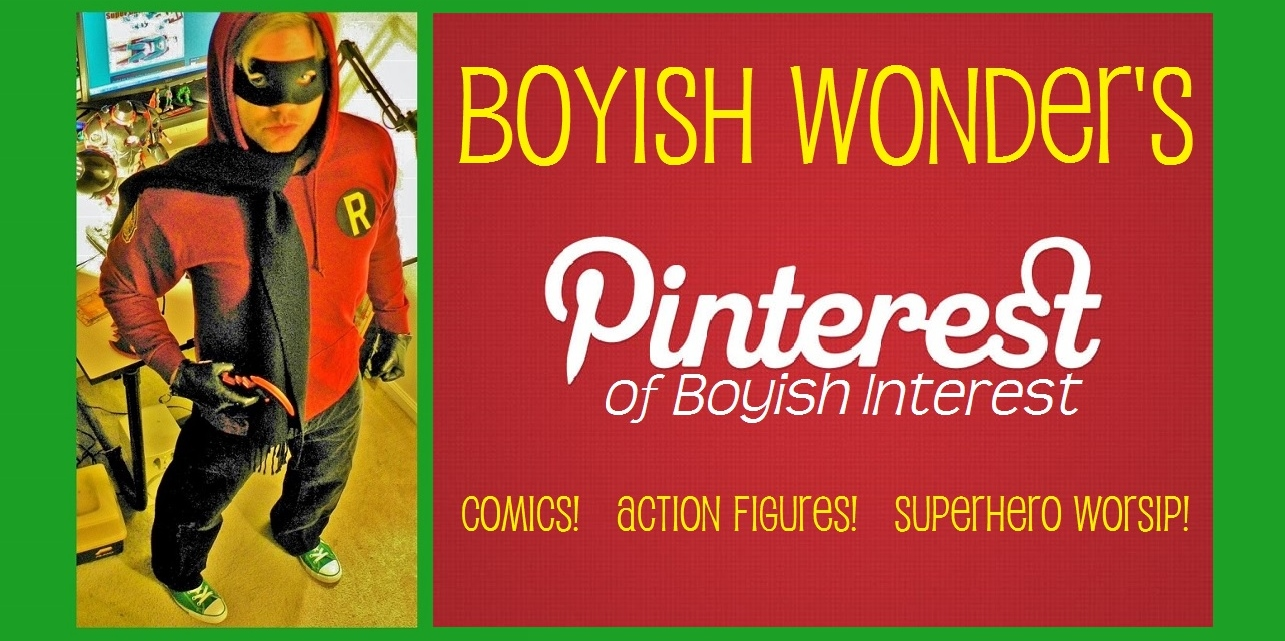 PINTEREST OF BOYISH INTEREST