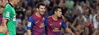 Ver Racing Santander vs Barcelona EN VIVO 11 Marzo 2012