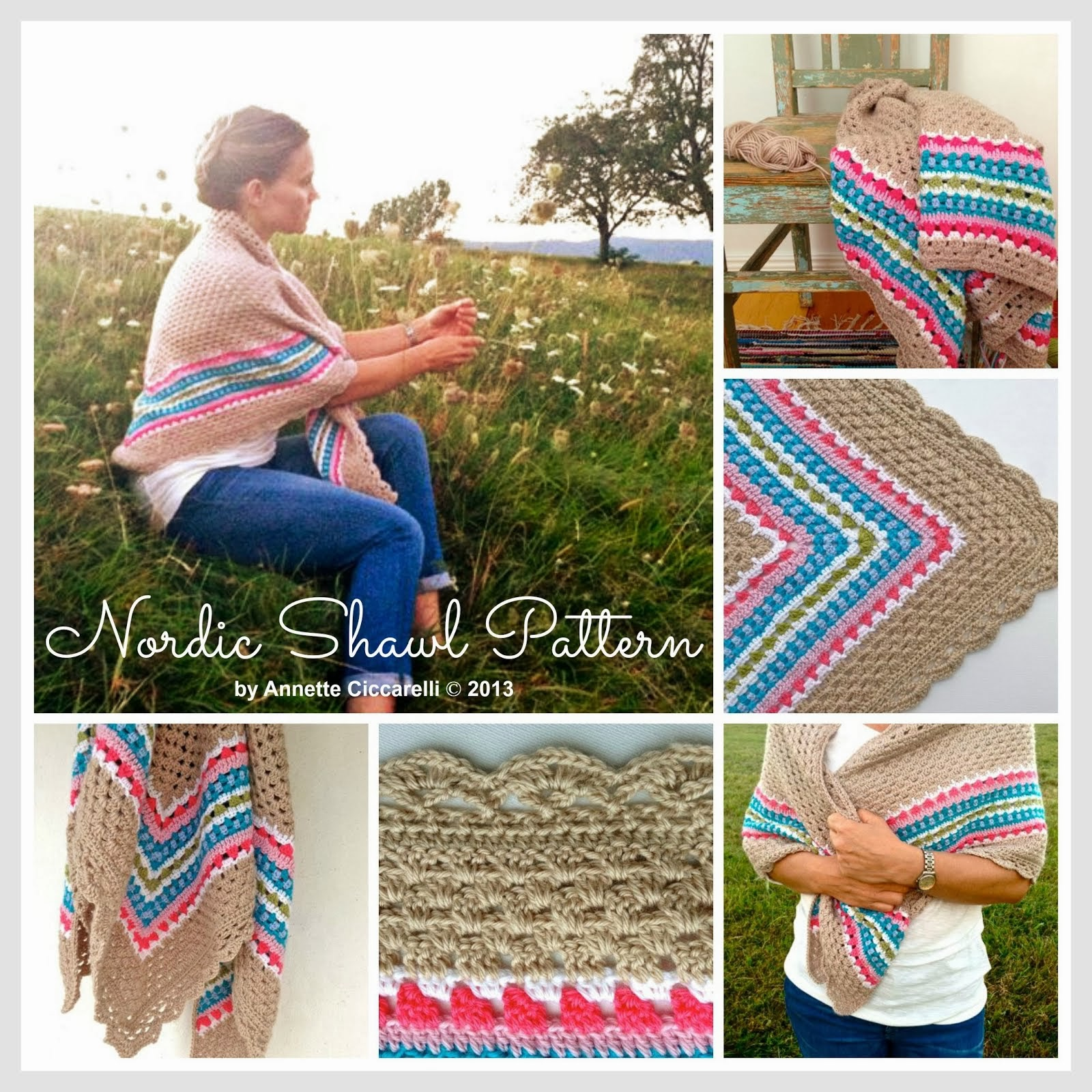 Nordic Shawl Pattern