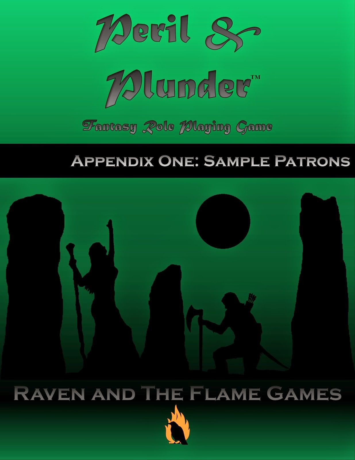 Peril and Plunder: Sample Patrons
