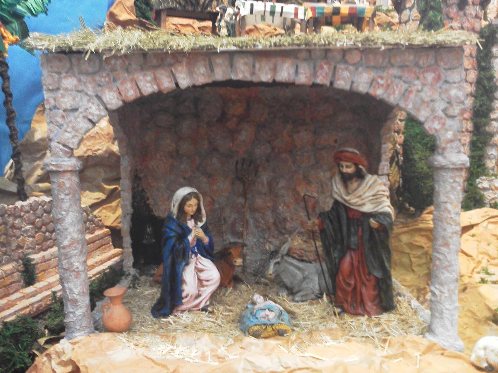 Bel n parroquial 2012 for Nacimiento belen