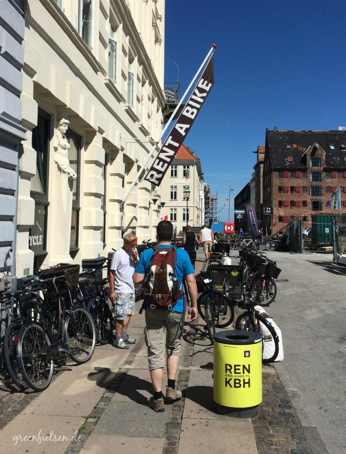 Rent a bike in Kopenhagen